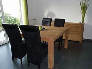 salle a manger photo 5 6 3498675 With meuble salle À manger avec salle a manger en teck