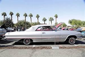 2017 Las Vegas Super Show silver 1963 Impala Convertible ...