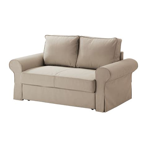 ikea 2er sofa backabro two seat sofa bed ramna beige ikea