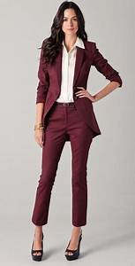 Pantsuit Or Skirt Suit For Interview Branded Suits For Womens Dress Yy