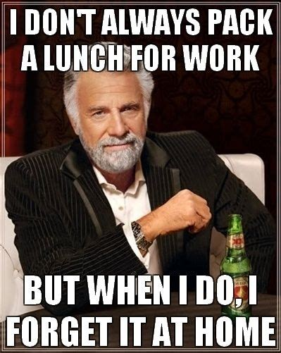 Lunch Memes - lunch knockoutmama