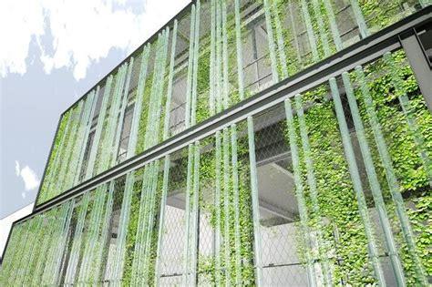 Vertical Garden Facade by Inhabitat On Green Thumb Ideas Green Facade Garden