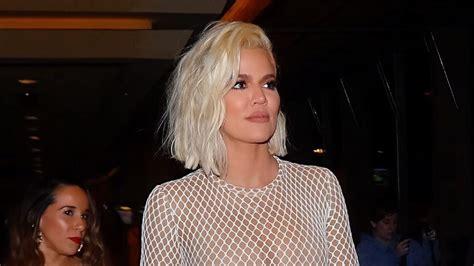 Khloe Kardashian Shows Off Revenge Bod in Sexy Fishnet ...
