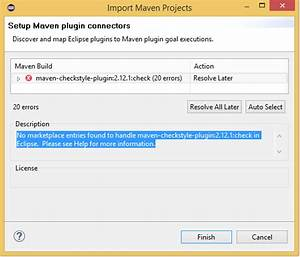 java error importing existing maven project stack overflow With documents4j