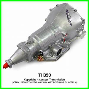 Turbo 350 Th350 Transmission Heavy Duty Performance   6