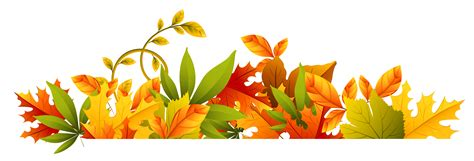 Fall Clipart Free Transparent Autumn Border Png Clipart Bulletin Clipart