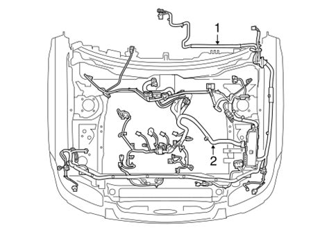 06 Ford Escape Engine Wire Harnes wiring harness for 2008 ford escape silver state ford parts