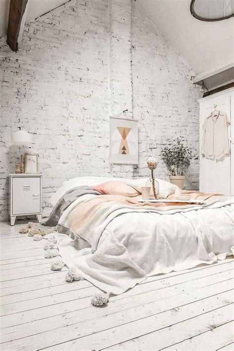 chambre indus couleur chambre blanche plus de 15 idées pour décorer