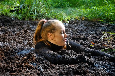 Sexy Girls Sinking In Deep Mud A Gigantic Selection Of