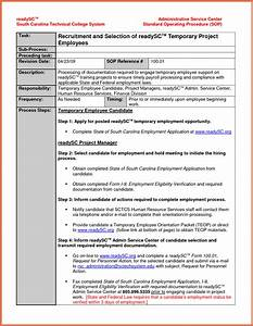 Best process and procedures template contemporary resume for Process and procedures template