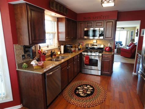 thomasville kitchen cabinets decoration colors  red