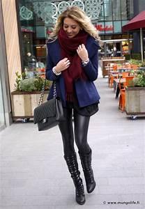 Liquid Leggings u0026 Black Boots | Anna Vanhanen | Style ...
