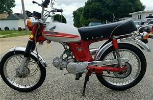 Impressive Survivor  U2013 1972 Honda Cl70  U2013 Bike