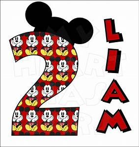 Mickey Minnie Birthday Clipart (85+)