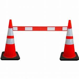 Cone De Chantier : c nes de signalisation rouge blanc doublet ~ Edinachiropracticcenter.com Idées de Décoration