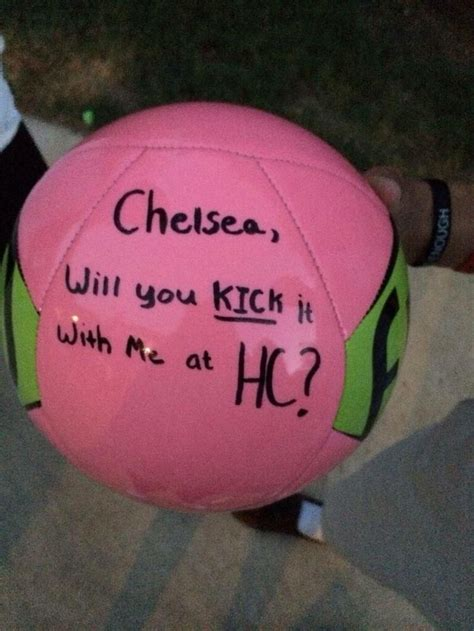 soccer prom proposal google search prom pinterest