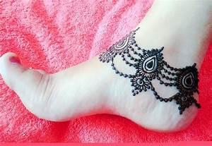 Beautiful Anklet Mehndi | Design Payal | Mehndi Pazeb ...