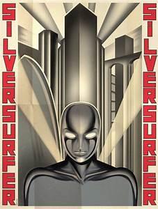 fantastic art deco superhero posters bit rebels With art deco style design