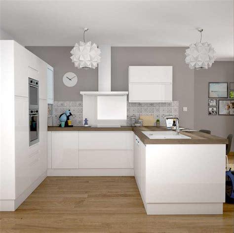 cuisine ikea blanche et bois cuisine ikea blanc collection avec cuisine ikea blanche et