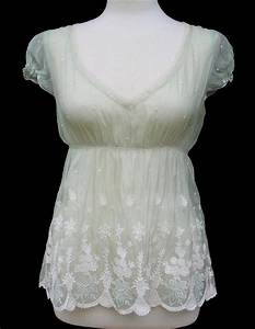 Elie Tahari  U2022 Pale Green Embroidered Silk Organza Daisy Blouse  U2022 Nwt  U2022  298