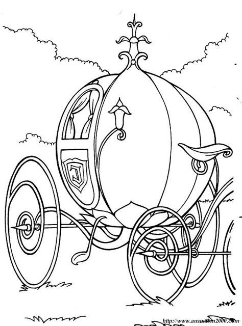 carrozza zucca colorare cenerentola disegno zucca diventa carrozza