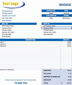 free excel invoice templates smartsheet With how to make an invoice without a company