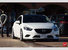 Schicker Mazda 6 mit Vossen Wheels und Carbon Interieur