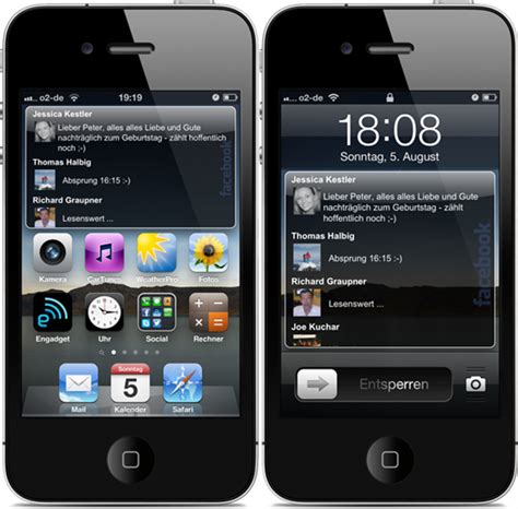 widgets for iphone how to add a live timeline feed to your iphone s