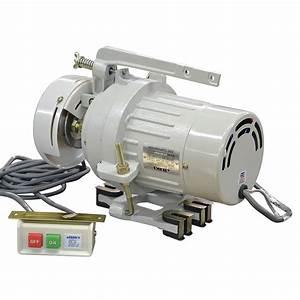1  3 Hp 3450 Rpm 240 Volt Ac Juki Electric Sewing Machine Clutch Motor