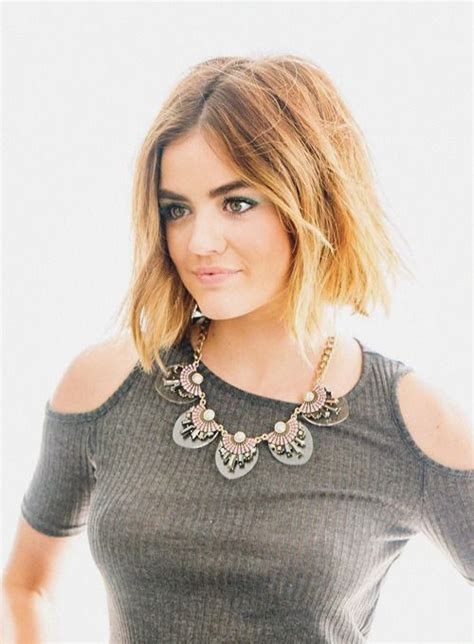lucy hale tumblah | Cheveux courts, Cheveux, Actrice