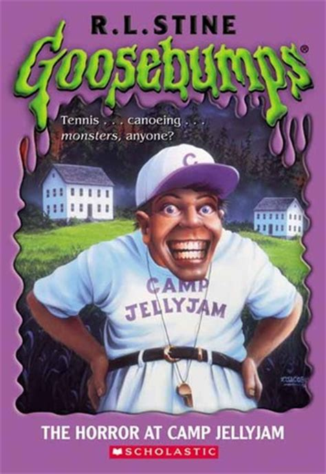 horror  camp jellyjam goosebumps   rl stine
