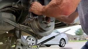 Rear Brake Pads And Rotor Replacement On A 2004 Chevy Impala