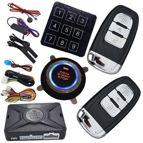 Automotive Car Keyless Entry Engine Start Stop System