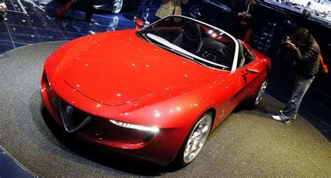 New Alfa Romeo Spider To Be Based On The Next