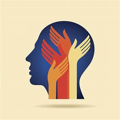 Mental Health Vector Illustrations Clip Thinking Illustration