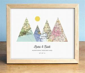 this is such a cute wedding gift for adventurous couples With cute personalized wedding gifts