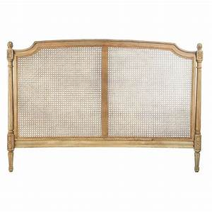 Tete De Lit 160 Cm : t te de lit en manguier l 160 cm colette maisons du monde ~ Teatrodelosmanantiales.com Idées de Décoration