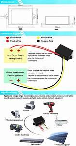 Waterproof Ip68 2a Camera Motor Monitoring Car 24vac To