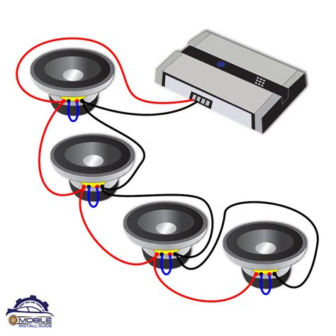 Subwoofer Series Parallel Wiring Diagram by Subwoofer Wiring Guide Mobile Install Guide