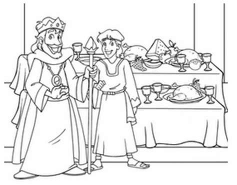 Banchetto Di Nozze Bible Class Handwork On Bible Coloring Pages