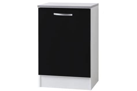 element de cuisine bas element bas de cuisine noir meuble de rangement pas cher