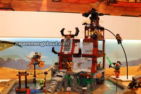 siege defence fair 2016 seven lego ninjago sets will be