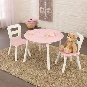 Kindertisch Mit Stühlen : kidkraft kindertisch mit staufach und 2 st hlen runder ~ Michelbontemps.com Haus und Dekorationen