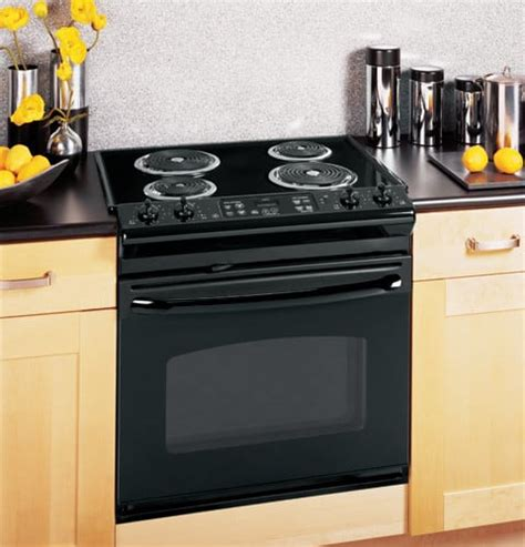 drop in electric ranges reviews ge jdp39dnbb 30 inch drop in electric range with 4 coil