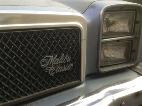 buy   chevrolet malibu classic coupe  door