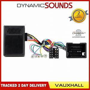 Steering Control Reverse Sensor Stereo Replacement Adaptor For Vauxhall Insignia