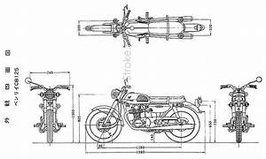 Honda Cb125 Dimensions