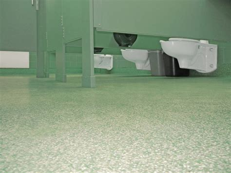 Waterproof Floor Coating for Public Restrooms   Easy to Clean