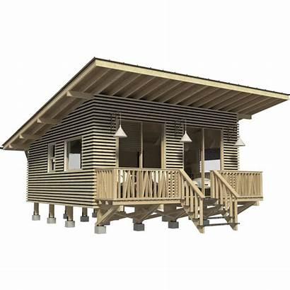 Cabin Plans Weekend Modern Log Elisabeth Plan