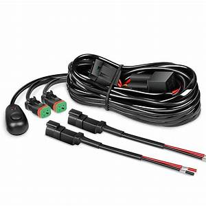 Nilight 16awg Dt Connector Wiring Harness Kit Led Light